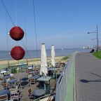 Pausieren im Strandcafe !