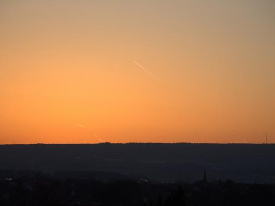 am Morgen erwacht die Natur