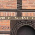 Jahreszahl mit Buchstaben