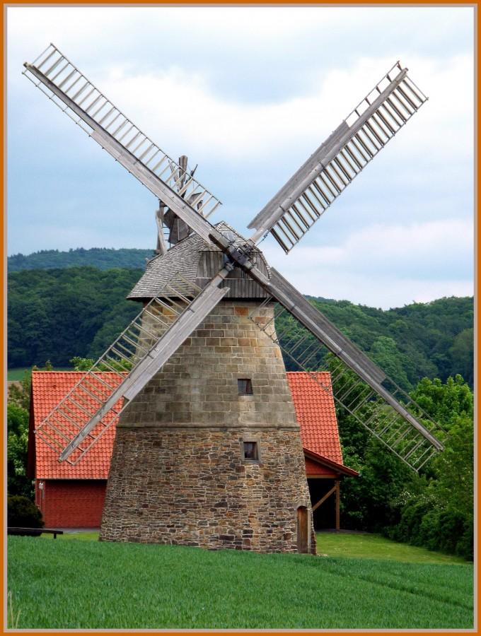Erd-Holländer-Mühle von 1855