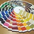 Farbenübersicht