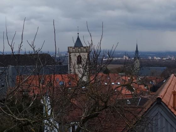 die Dächer von Kronberg