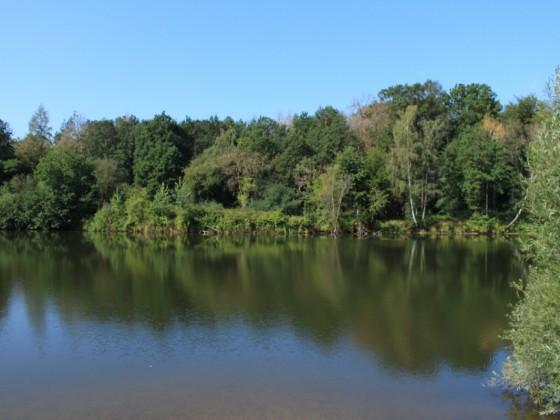 ...Spiegelbilder im Wasser