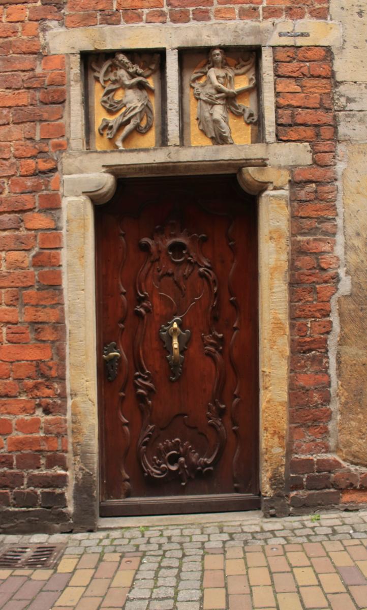 DIE Tür in Bremens Böttcherstrasse