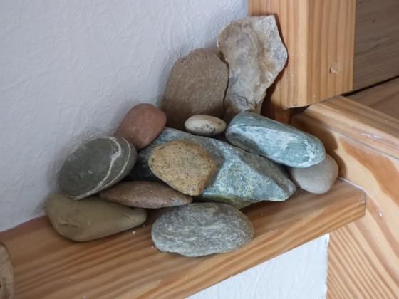 Steinsammlung