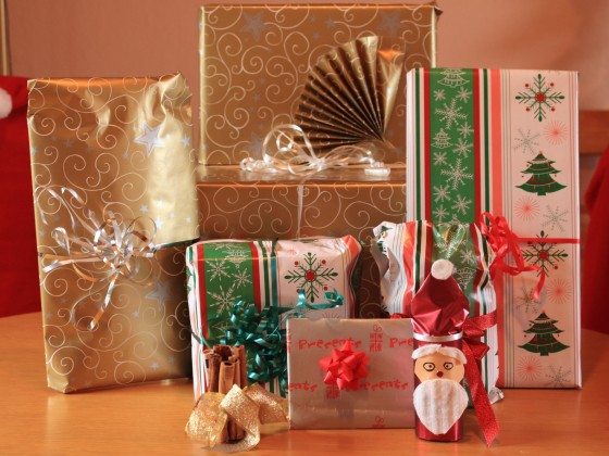 ....gibt`s geschenke :)