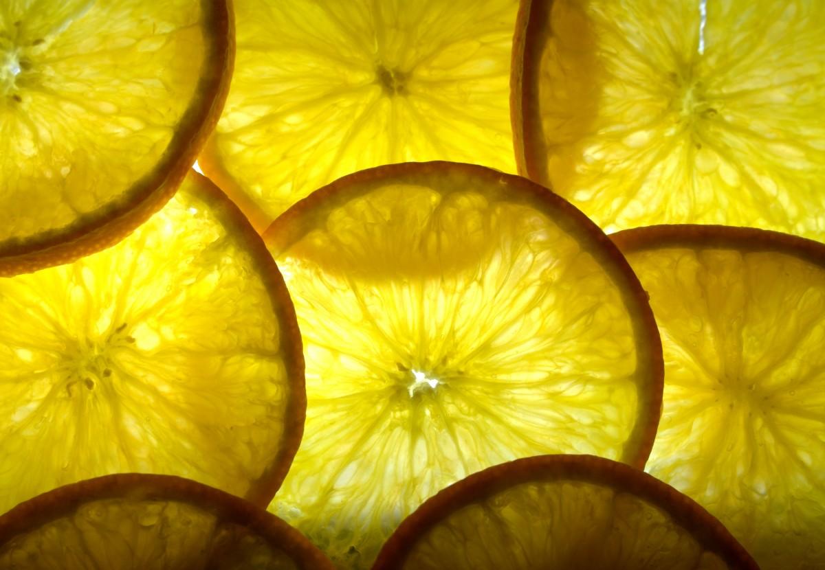 Früchte in Scheiben