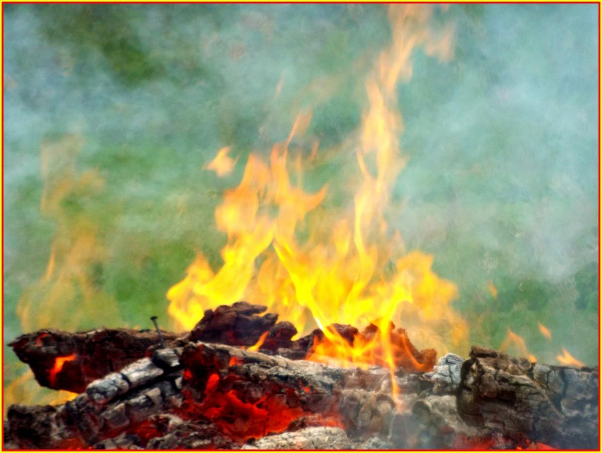 Element......Feuer .....