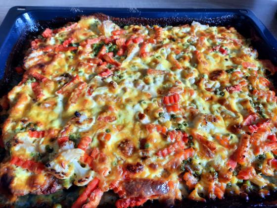 Hachfleischpizza