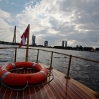 Schiffchenfahrt auf der Daugava