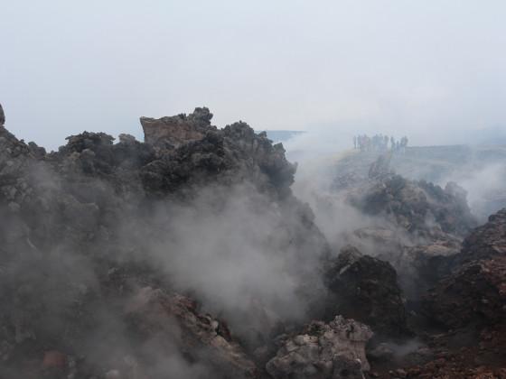 Kraterwanderung am Etna