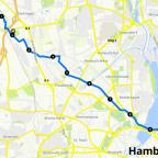 Donnerstag erster teil 10 km