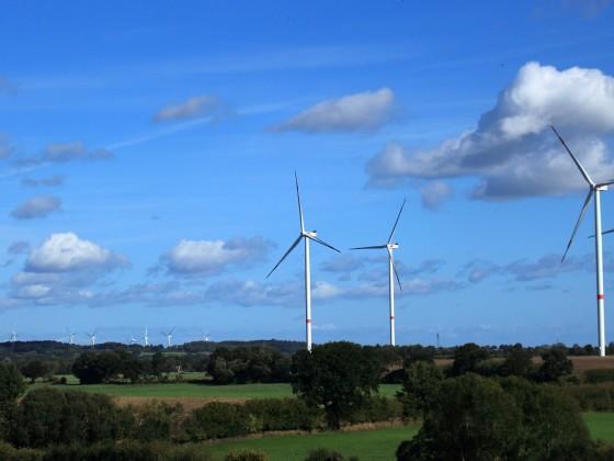 Wind-Energie-Gewinnung
