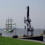 Humboldt mit Weserwasser im Kiel