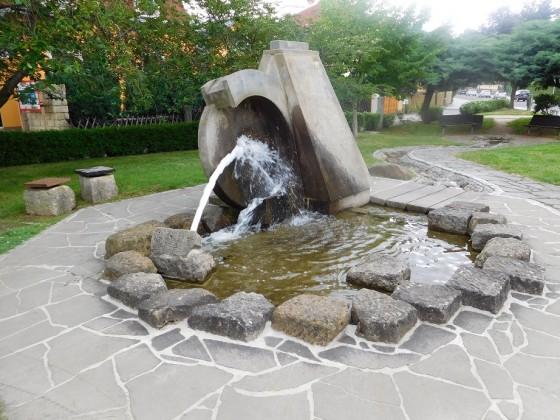 Wasser - Brunnen - Oase der Erholung