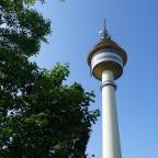 Radarturm bei Tag