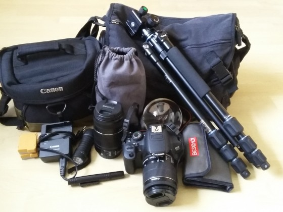 ...mein Fotoequipment