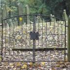 Eingangstor zum jüdischen Friedhof