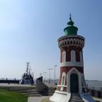 Leuchtturm an der Lotsenbucht