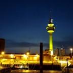 Ratdarturm bei Nacht