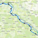 Freitagsfahrt 55 km