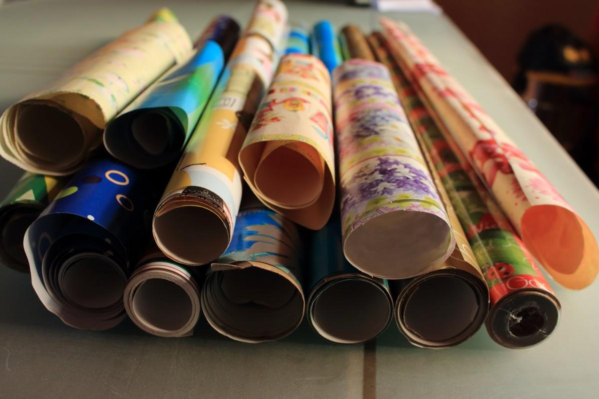 Geschenk-Papier