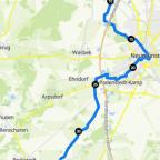 Mittwoch zweiter Teil 45 km
