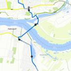 Donnerstag zweiter Teil 5 km