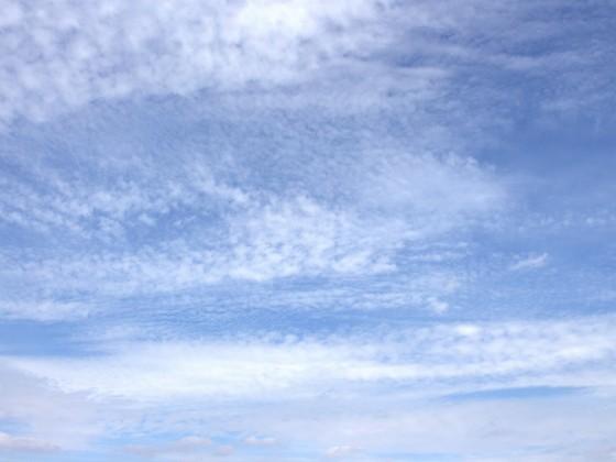Schönwetterwolken von Hitzacker