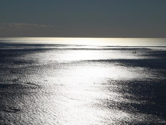 Glitzern von Sonnenlicht